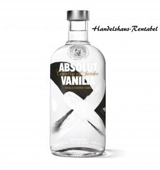 Absolut Vodka Vanilia 40 % Vol. 0,7 Liter
