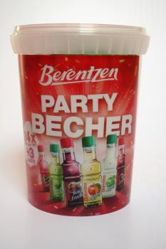 Original Berentzen Minis Party Becher 27 x 0,02 l Pulverfass 20 ml