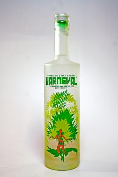 Karneval Vodka 38% 0,5 Liter Vodka Edition Lime & Mint BONEZ MC & RAF CAMORA