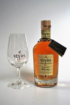 SLYRS Bavarian Single Malt Whisky Classic 43% 0,35 l + Nosingglas GRATIS